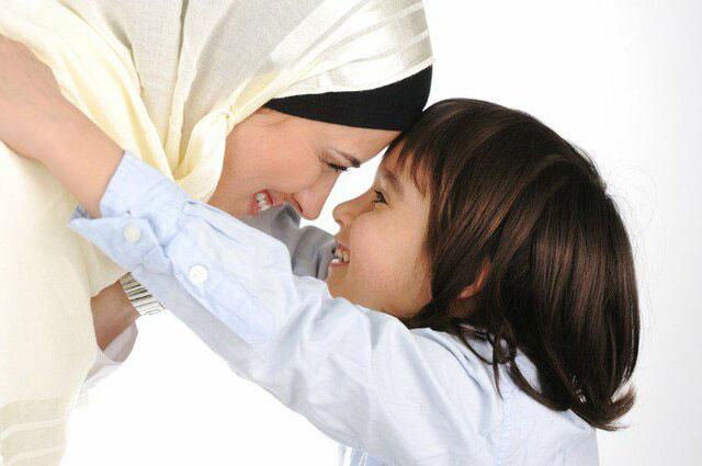 عکس فرزند با ادب